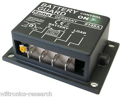 Kemo M148A Low Voltage Battery Protector KI8262