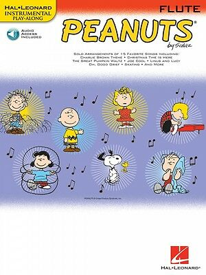 Wind & Woodwinds Ambitious Peanuts For Flute Instrumental Play-along Book And Audio New 000842430 Street Price