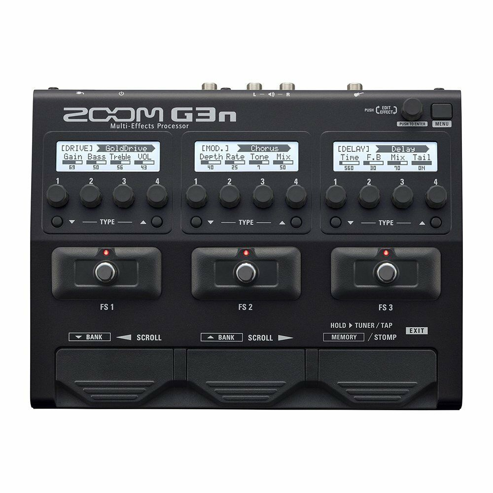 ZOOM G3n multi effector from JAPAN NEW Expedited Shipping
