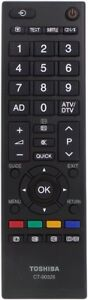 TOSHIBA-TV-REMOTE-CONTROL-CT-90329-CT90326-42SL700A-32SL700A-26SL700A-22SL700A