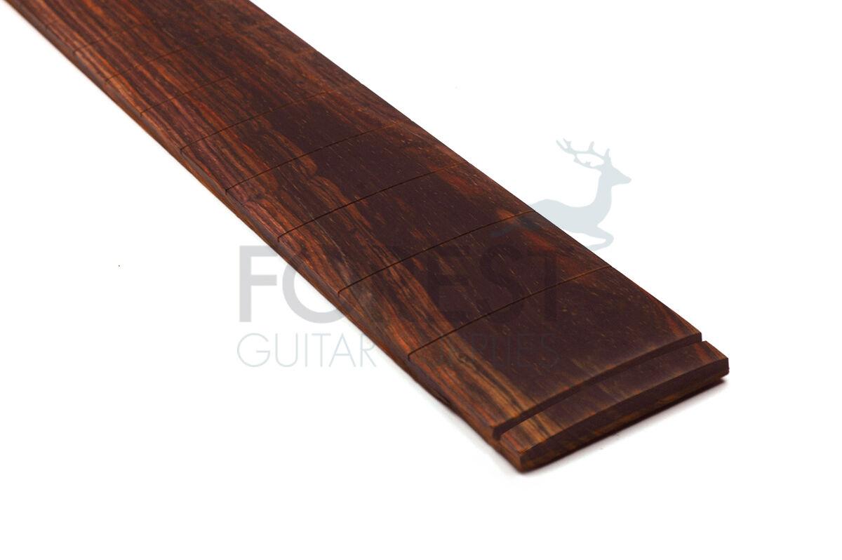 Cocobolo Guitar Fretboard,Fingerboard 25.5   Fender Slotted R16   - Vintage