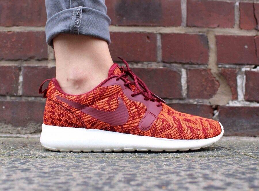 NIKE ROSHE ONE KJCRDWOMEN'S RUNNING Schuhe TOTAL ORANGE /TEAM ROT 100% AUTHENTIC