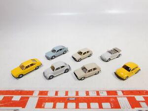 CA481-0-5-7x-Wiking-1-87-H0-PKW-VW-Volkswagen-Kaefer-Golf-411-Passat-s-g