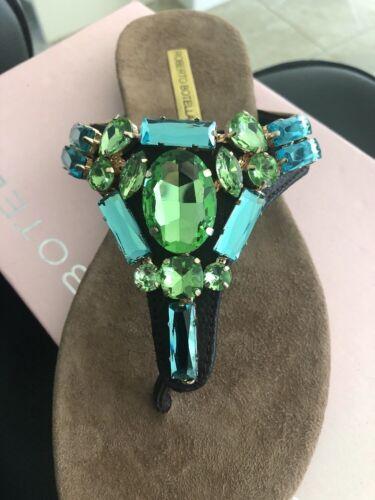 Roberto 37 Diamante Taglia Flat Sandals Botella PgAxPXrqBn