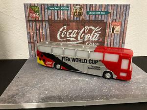 1/87 majsto? Bus Fifa World cup Coca-cola  Germany + diorama Coca 1/43