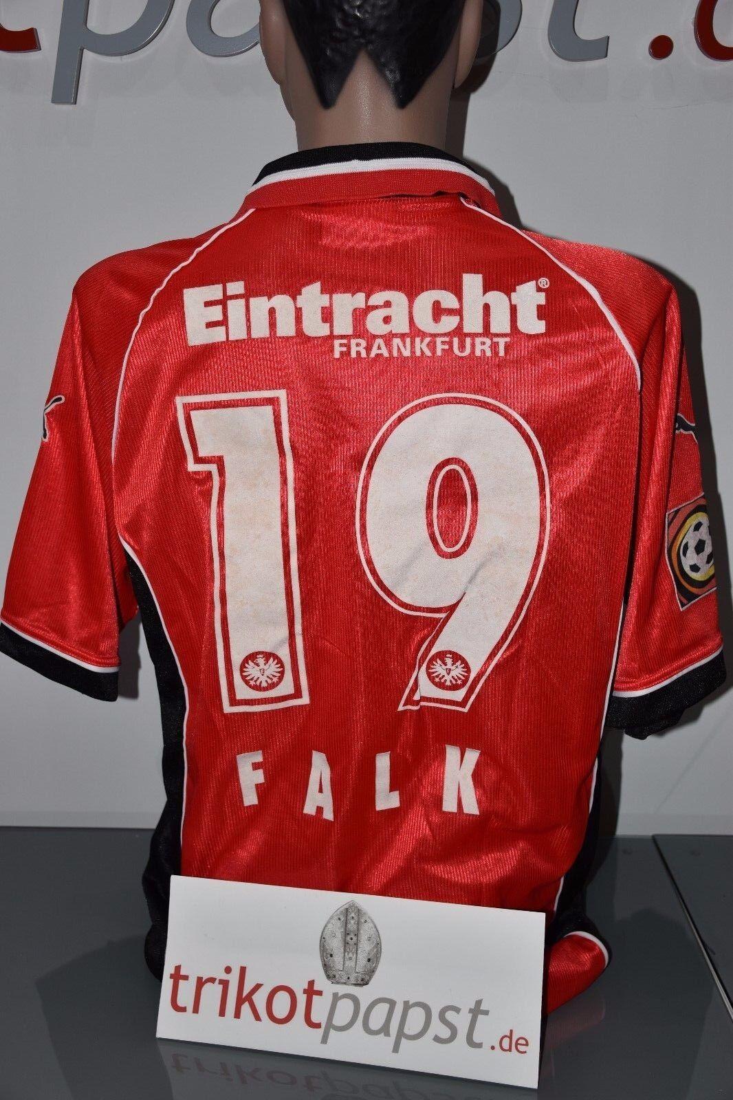 Eintracht Frankfurt Trikot 98 99    19 Falk Puma SGE Viag Interkom fb6a24