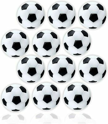 by Brybelly 36 Pack of Mixed Foosballs 12 Smooth White for Standard Foosball Tables /& Classic Tabletop Soccer Game Balls 12 Black /& White Soccer 12 Red Textured