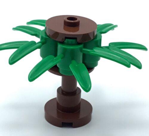 LEGO TREE BROWN MINI PALM TREE PART BUSH FOREST CUSTOM BUILT  PIECE