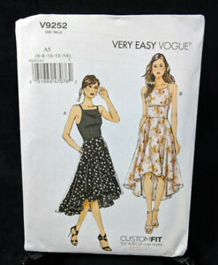 Butterick Sewing Pattern 6453 Misses/' Princess Seam Dress Gathered Skirt
