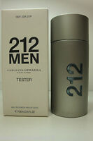 Vintage Carolina Herrera 212 For Men Edt Spray Cologne Tstr 3.4oz / 100ml