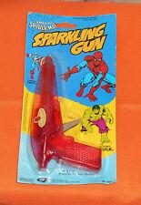 vintage Gordy THE AMAZING SPIDER-MAN SPARKLING GUN MOC spark