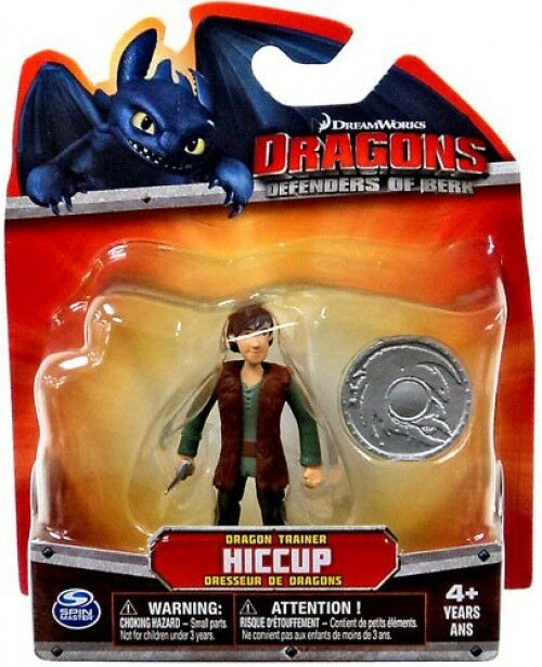 How to Train Your Dragon Dragons Defenders of Berk Hiccup 3-Inch Mini Figure