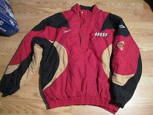 San-Francisco-49-039-s-Forty-Niners-NFL-Pro-Line-Reebok-Winter-Jacket-XL