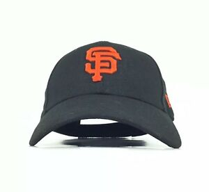 detailing b5562 fe03c Image is loading San-Francisco-Giants-Black-Baseball-Cap-Hat-Adj-