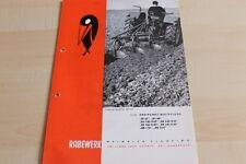 144545) Rabewerk Dreipunkt Beetpflüge Prospekt 03/1969