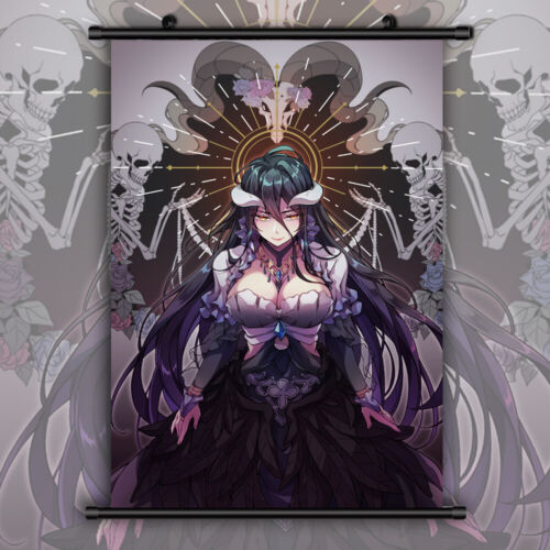 Overlord Albedo Anime Manga Wallscroll Poster Kunstdrucke Bider Drucke