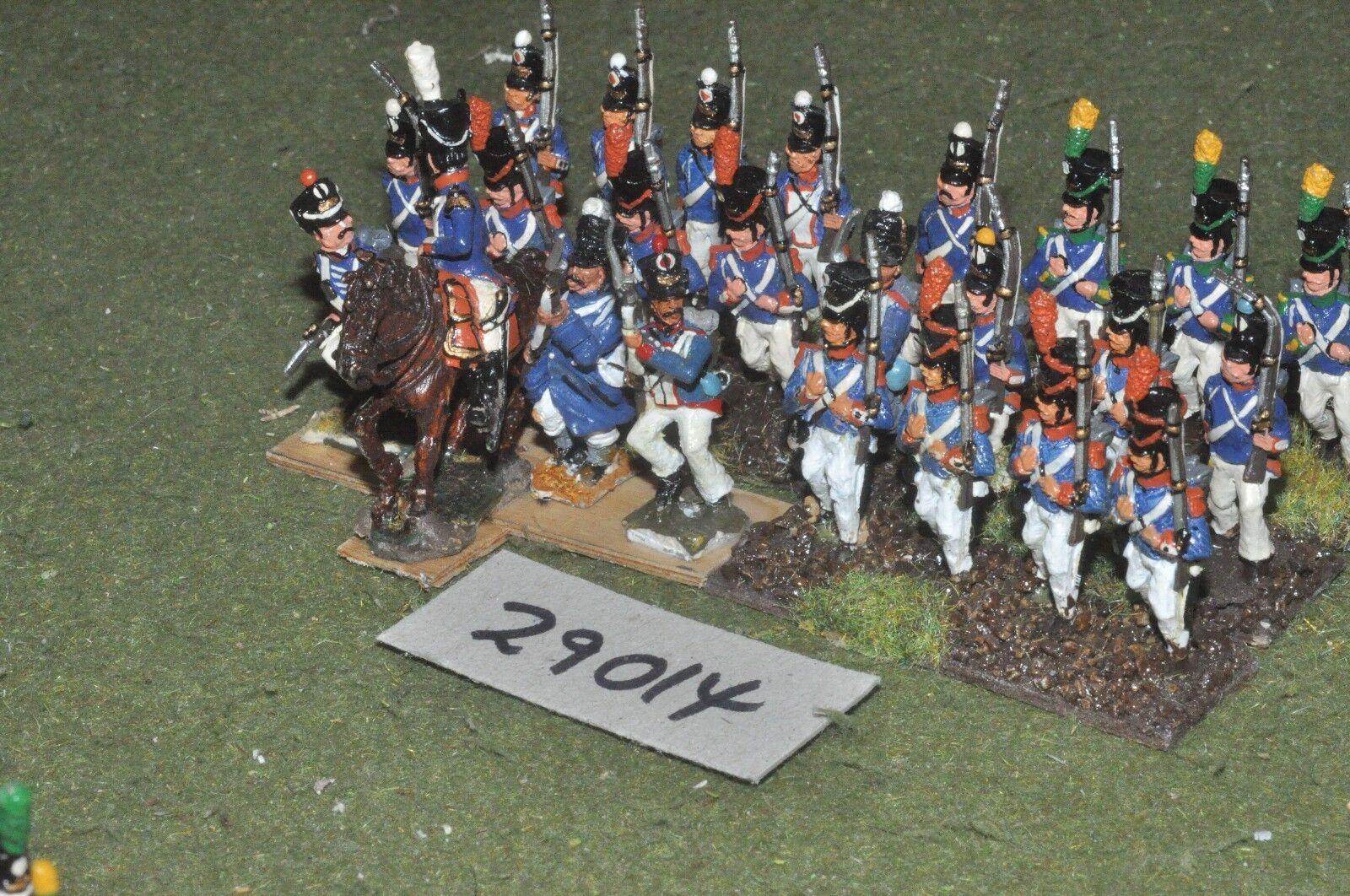 25mm napoleonischen   union - linie 24 zahlen - inf (29014)