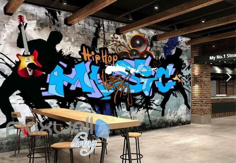Hiphop Graffiti Dance Wall Art Wall Murals Wallpaper Decals Prints Decor
