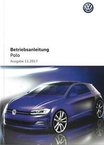 VW-POLO-6-Betriebsanleitung-2017-2018-Bedienungsanleitung-Handbuch-Bordbuch-BA