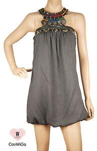 Mini Grey Conmigo London 245 Dress Embellished q1B7wTWBp