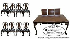 Harden Solid Cherry Chippendale Dining Room Table & Chair Set