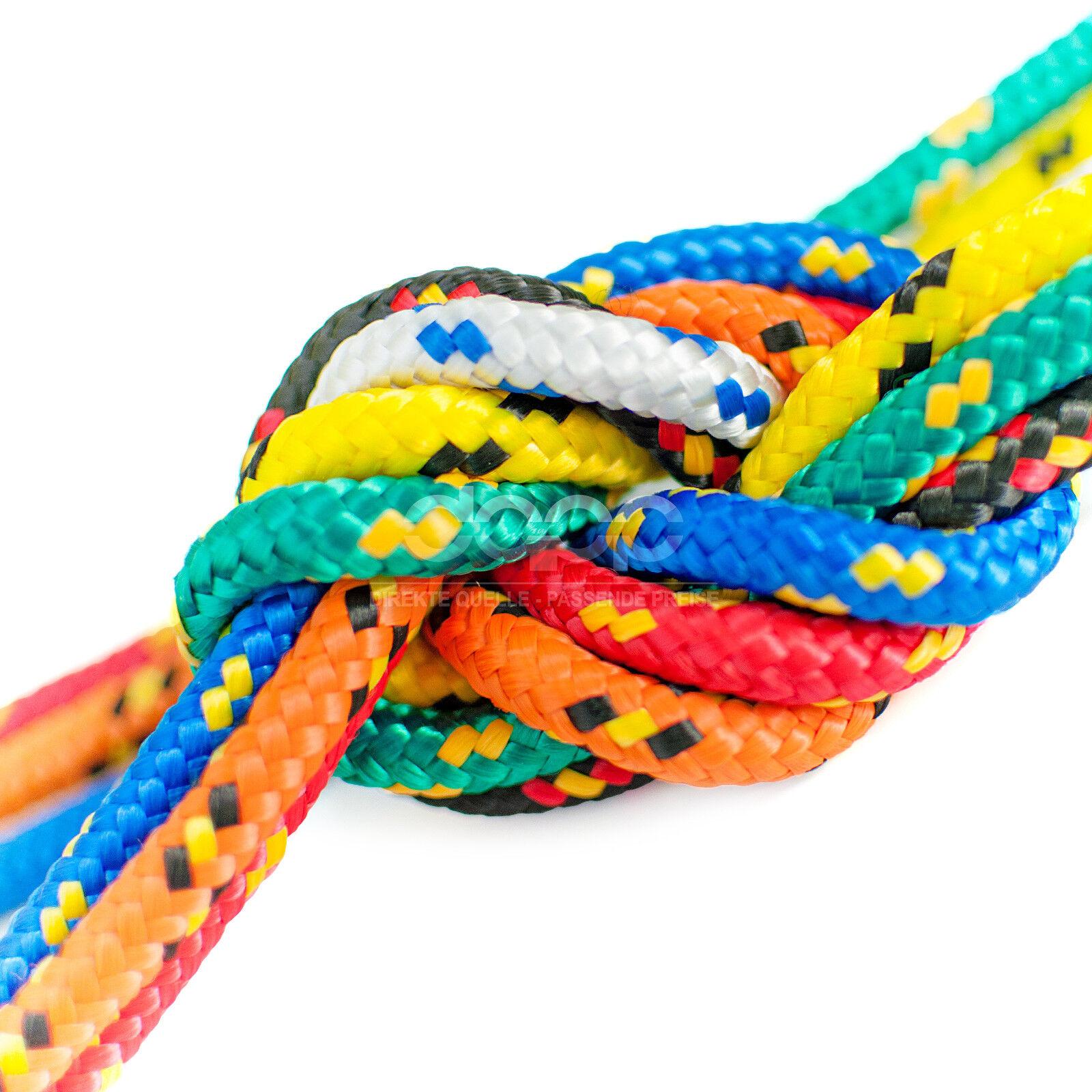 Polypropylen Tauseil geflochten Leine Seile Polypropylenseil Polypropylenseil Seile ab 10 bis 50 Meter 47e9cd