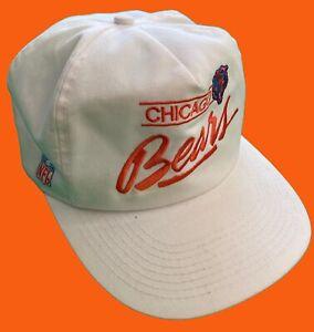 Chicago-Bears-Vintage-Snapback-Cap-1992-Team-NFL-Football-Pro-One-Vtg-Retro