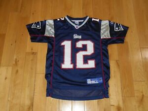 Details about Reebok On Field TOM BRADY NEW ENGLAND PATRIOTS Youth NFL Team JERSEY Med 10-12