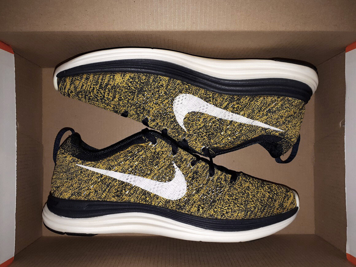 NIKE FLYKNIT LUNAR1+ LASER orange US 6,5-7 free 554888-481 transform motion rn