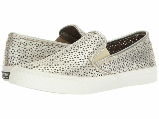 Sperry Seaside Nautical Perforated