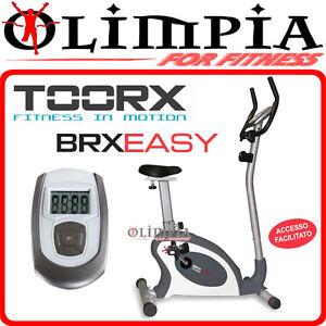 TOORX-Cyclette-Bike-MAGNETICA-BRX-EASY-con-ACCESSO-FACILITATO-e-volano-da-8-Kg