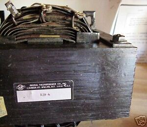 Signal-120V-6A-Transformer-EXCELLENT