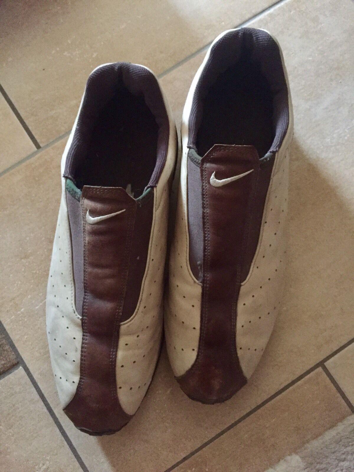 Nike Sneaker , Beige , Braun, 47,5