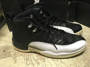 de2acbf6fd6d USED MENS NIKE AIR JORDAN XII 12 PLAYOFFS 2012 EDIT 130690 001 SZ 12 ...