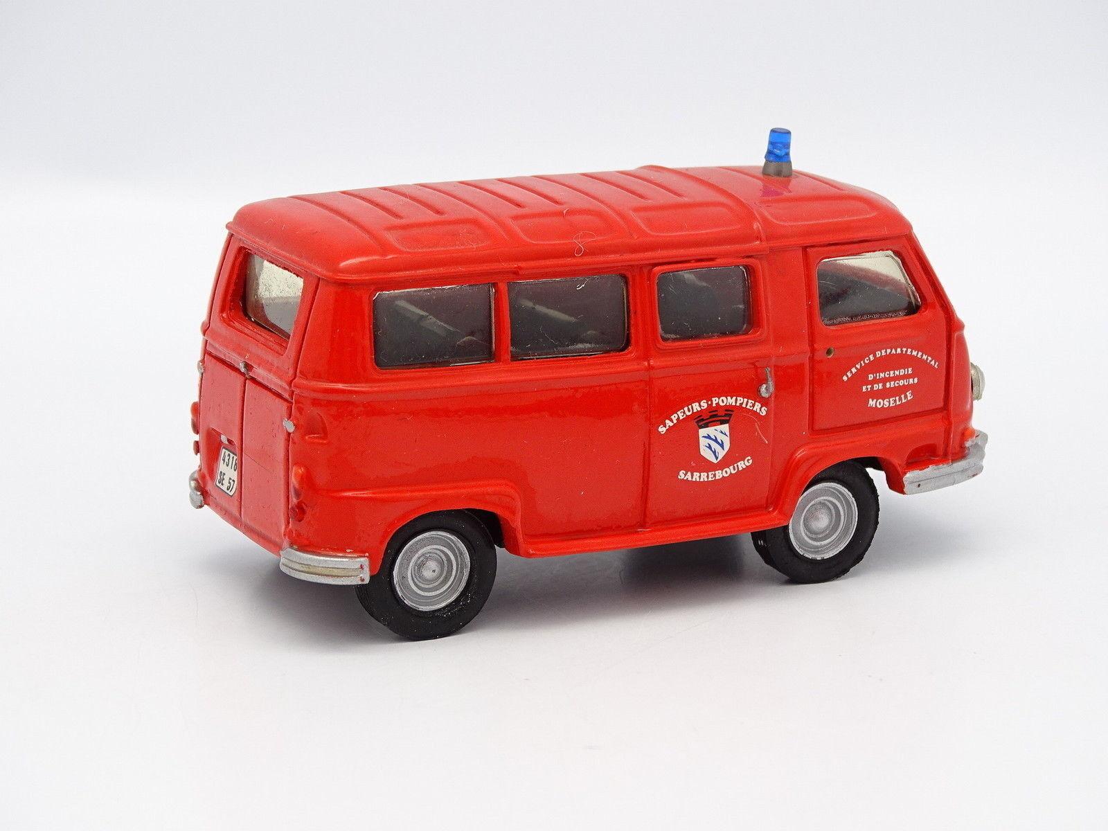 Mvi Mvi Mvi Set Aufgebaut 1 43 - Renault Estafette Mini Bus Feuerwehr Mosel 204727