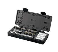 "Halfords Advanced Professional Socket Set Kit 3/8"" 18 Piece Standard Deep Tools"