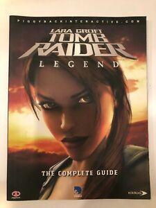 Lara Croft Tomb Raider Legend The Complete Guide Ebay