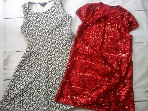 NEW-USED-NICE-19x-FUR-JACKET-TOPS-DRESS-BUNDLE-GIRL-CLOTHES-12-13-YRS-4-5