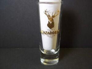 "Shot Glass Shooter CAZADORES Tequila /""RACK IT UP/"" Deer Logo CRISA 3 inch"