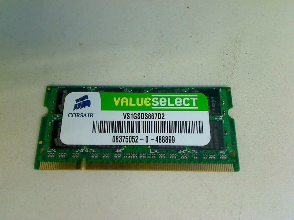 1GB DDR2 Memory RAM is Corsair PC2