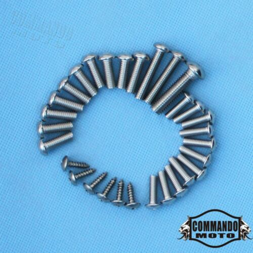 Complete Fairing Bolt Kit Body Screws Fastener For Suzuki GSX-R600 750 2008-2009