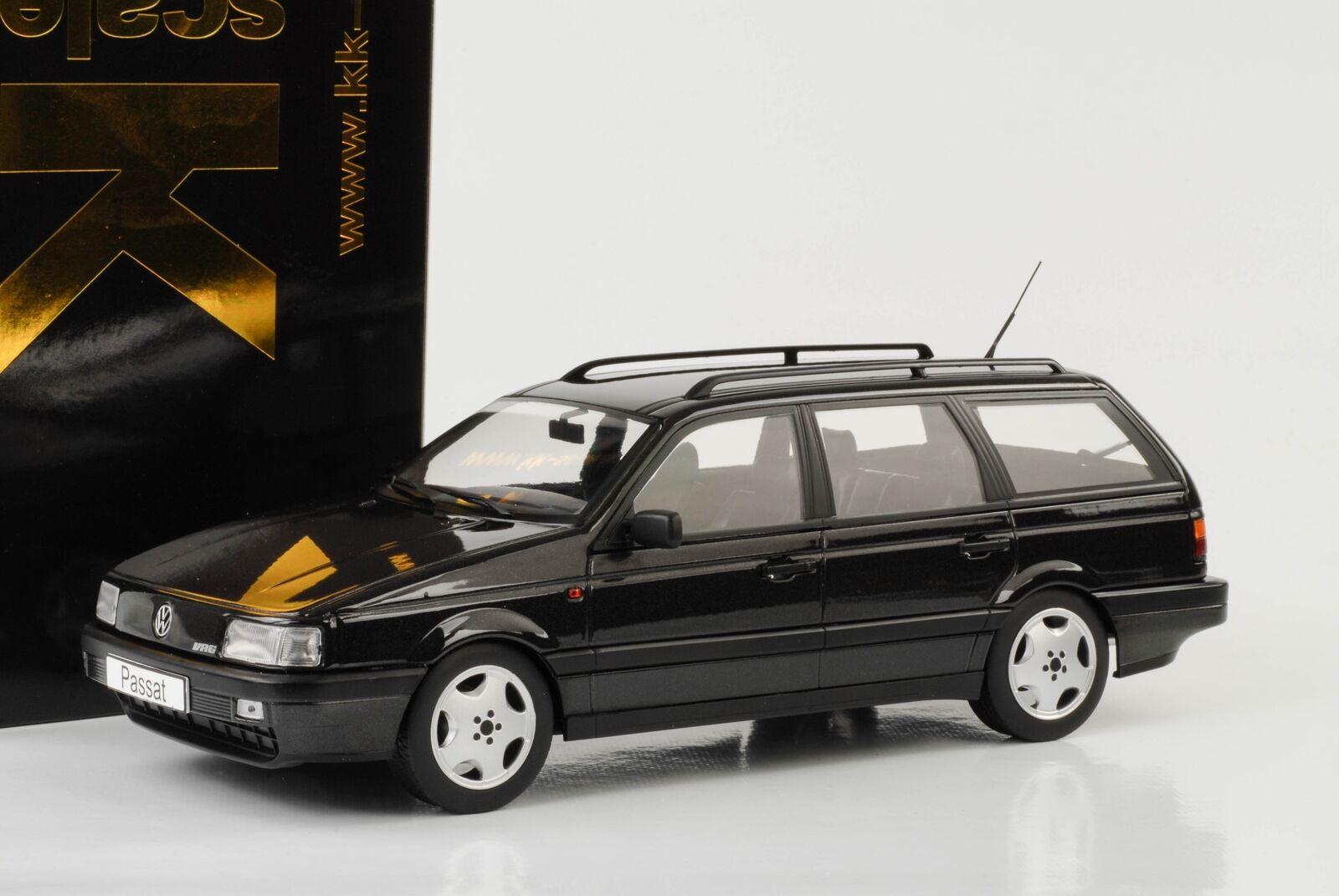 1988 Volkswagen VW Passat b3 vr6 Variant negro metálico 1 18 KK