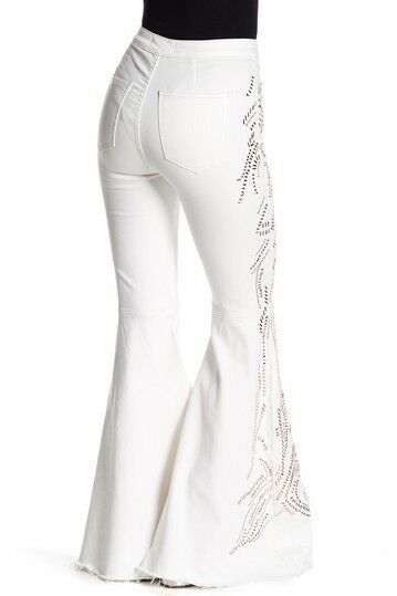 Free People Float On Flare Embellished Jeans