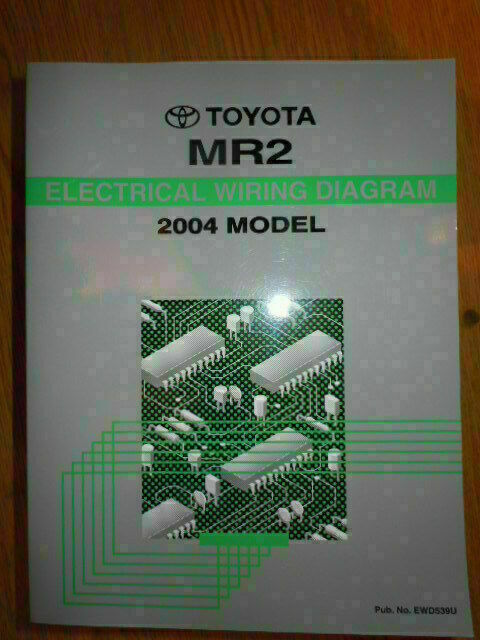 2004 Toyota Mr2 Electrical Wiring Diagram Shop Service
