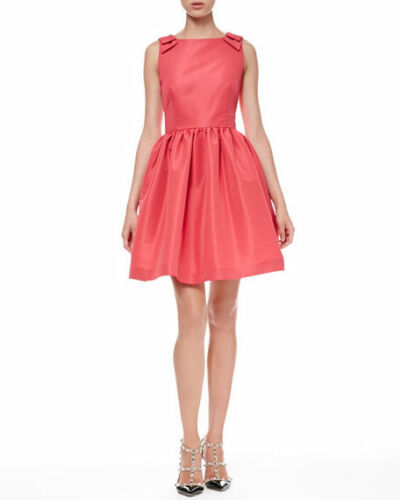 RED VALENTINO Women's Dress Sz 42 US 10 Raspberry