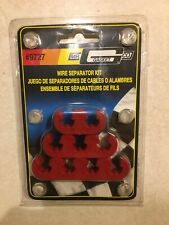7 /& 8mm Plastic Mr Gasket 9727 Wire Seperator Kit Red
