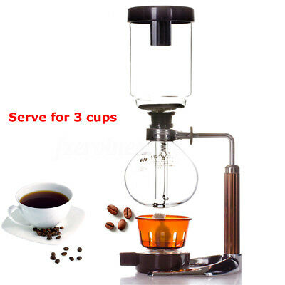 Stainless Glass Cold Drip Filter Water Coffee Maker Tool For 3-Cup Handmade Gift