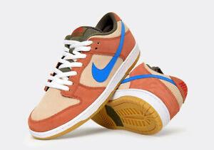 huge discount ae42d 8b6e6 Image is loading Nike-SB-Dunk-Low-Dusty-Peach-Photo-Blue-