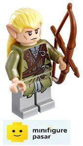 dim008-Lego-The-Hobbit-LOTR-71219-Legolas-Dimensions-Minifigure-w-Bow-New