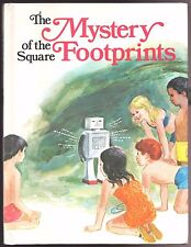 Children's Book THE MYSTERY OF THE SQUARE FOOTPRINTS Maple Street Five